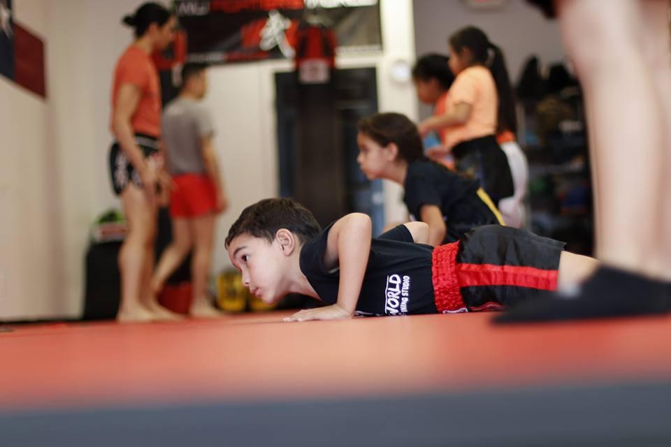 Kids (5-12 Years Old) - Kickboxing and jiu jitsu program