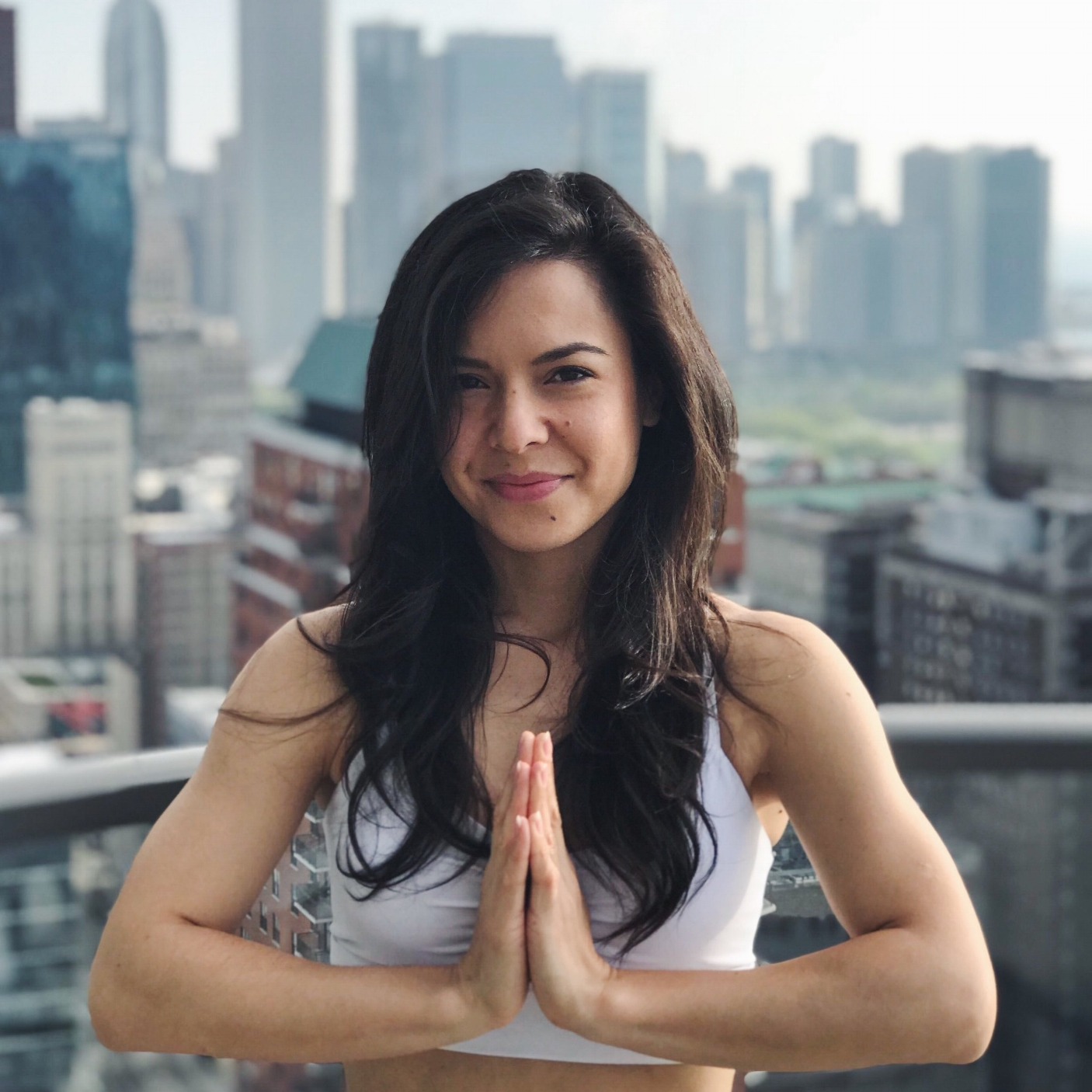 Angela Corpus - Angela is a certified 200 hr yoga teacher with a passion for exploring the mind-body connection of yoga. Like many, she initially came to her mat for the workout, but what she discovered was the profound power that a deep breath can bring to a moment. One of her go-to mantras is