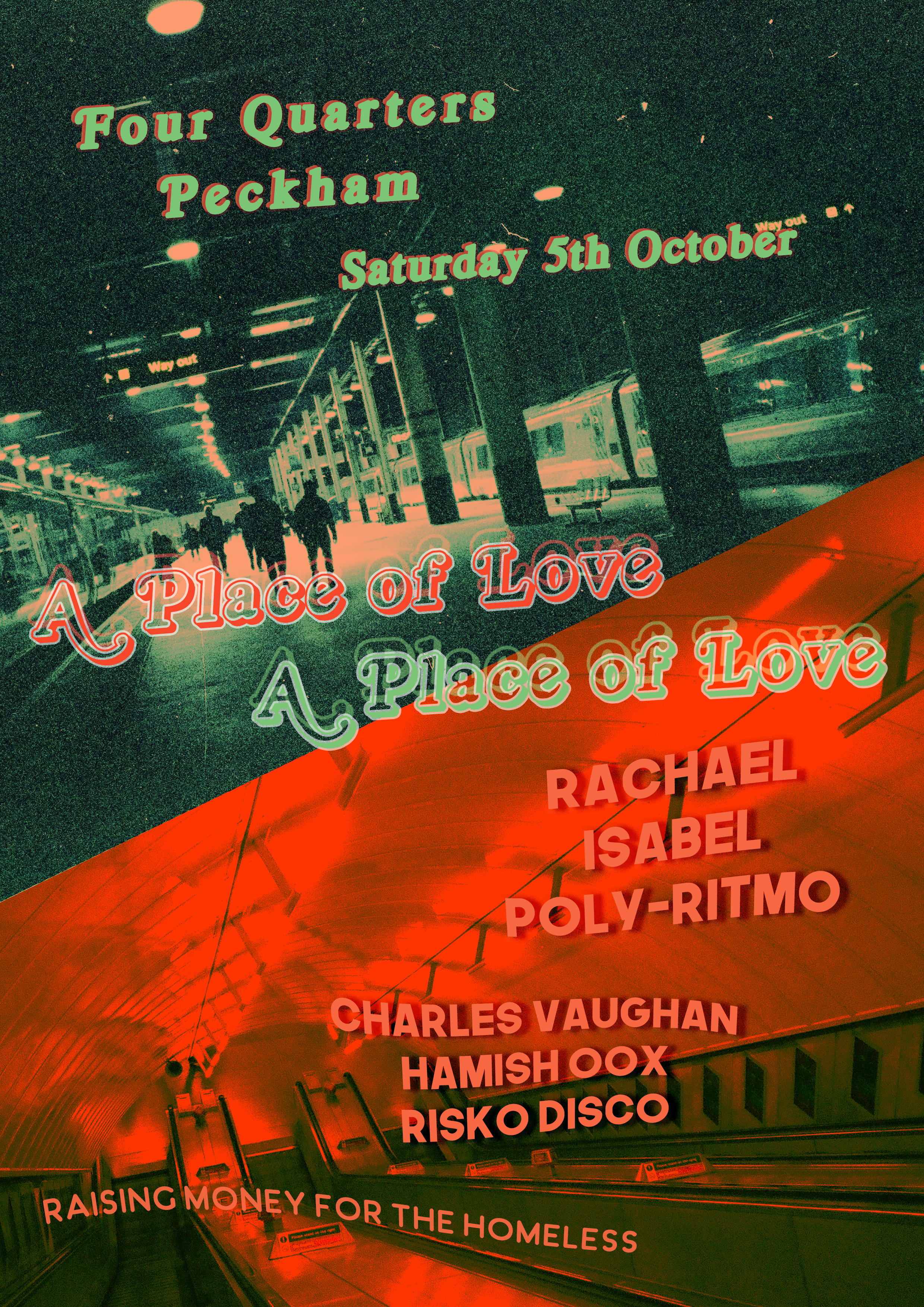 Rachael, Poly-Ritmo & Slinkykinky - For our first party we're welcoming a power house of disco talent from across London. Headlining will be Rye Wax's legendary Rachael with support from SOTU's Poly-Ritmo and Slinkykinky. The dance will be split over two rooms and run into the early hours, see you on the dance floor…