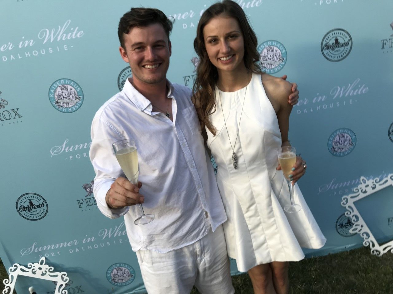 Christopher O'Connor & Connie Stanclik at Summer in White 2018