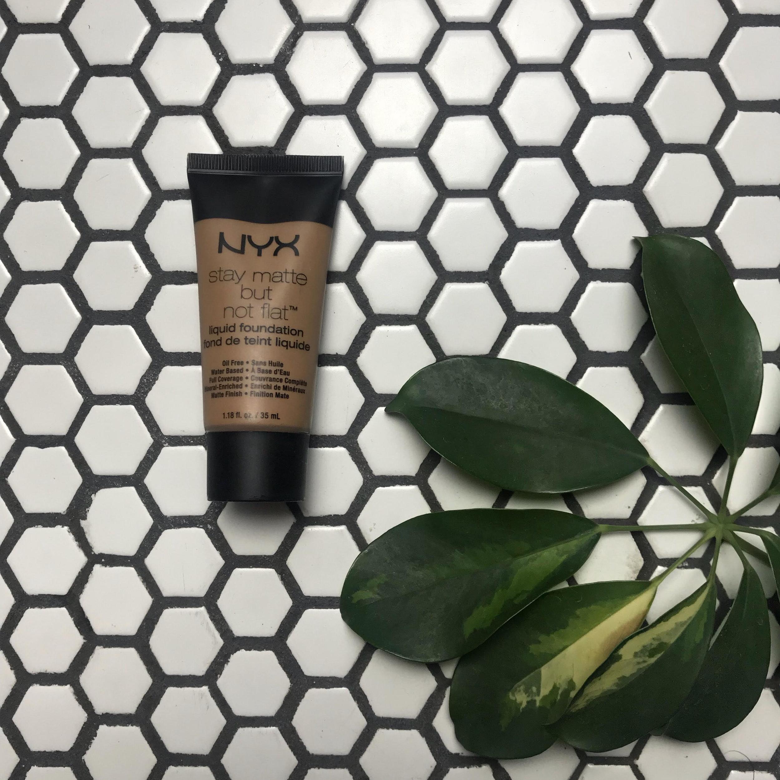 NYX Cosmetics Stay Matte But Not Flat Foundation