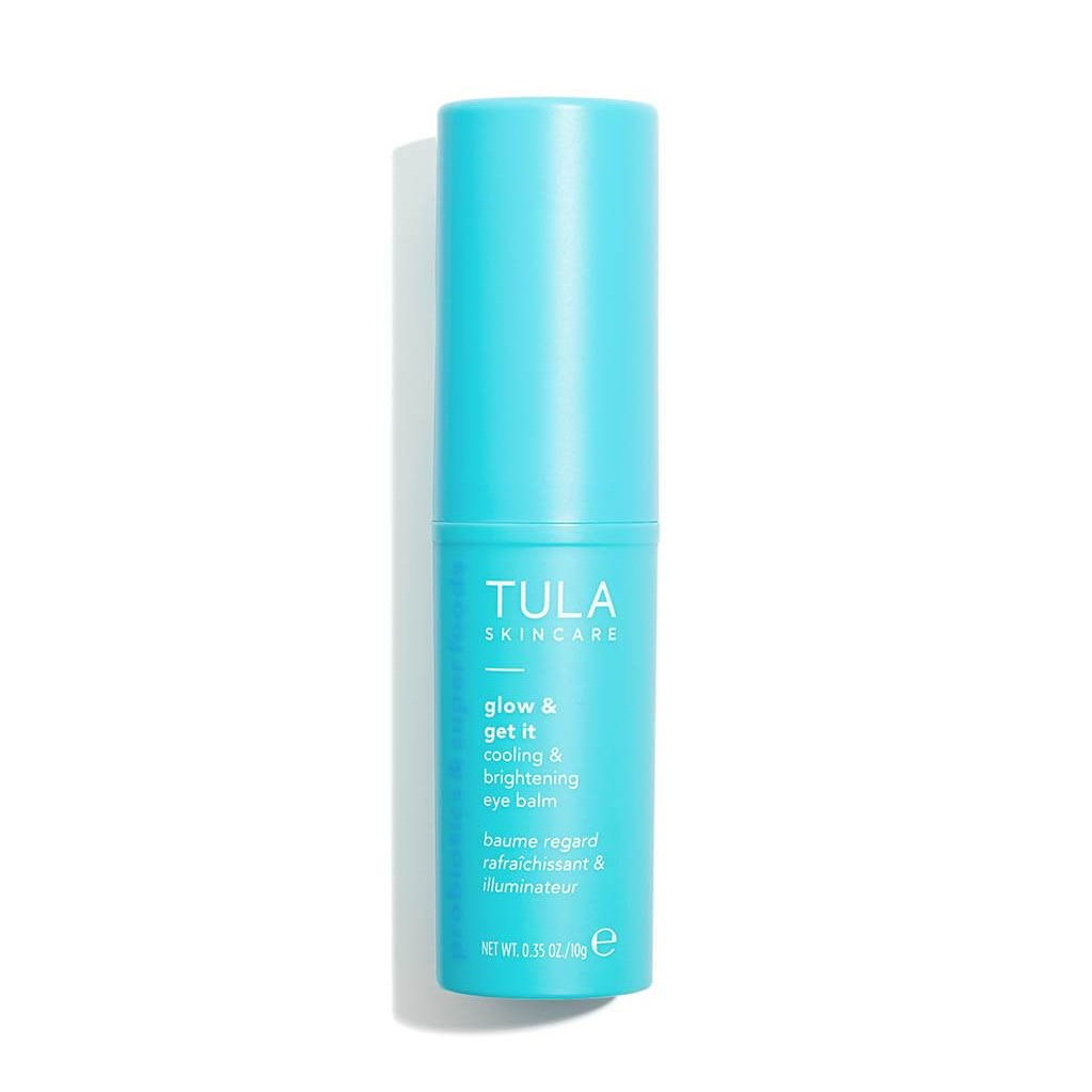 Tula's Glow and Get It Cooling and Brightening Eye Balm