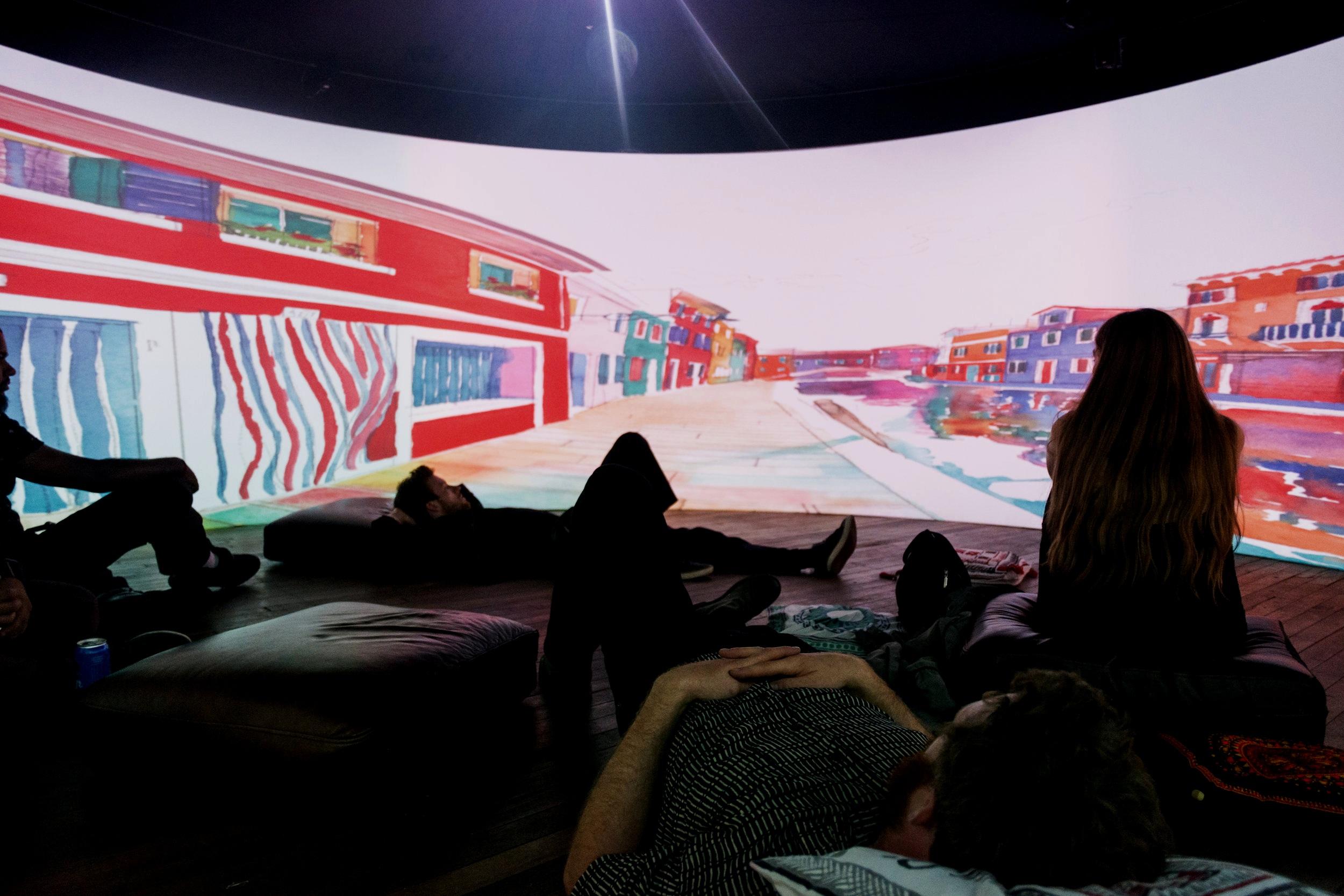 INTERACTIVE VR, AR/XR, INSTALLATION -