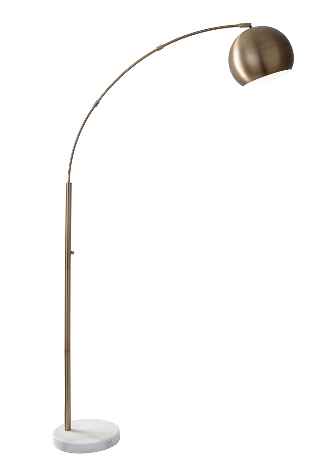 Astoria Arc Lamp Brass