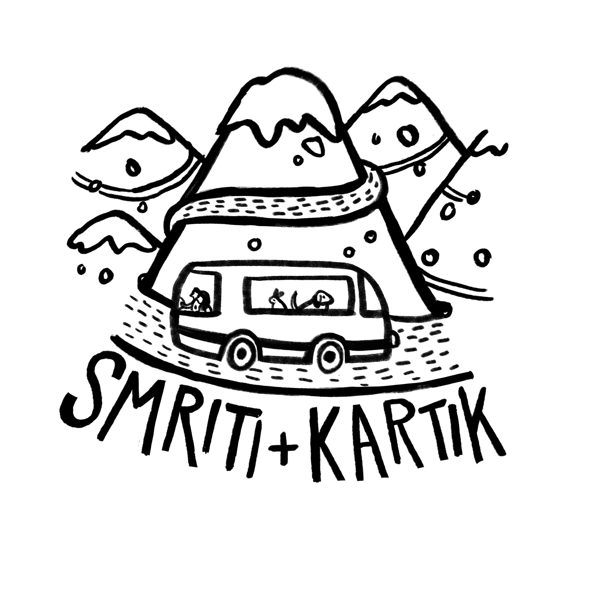 Logo chosen by Smriti and Kartik.