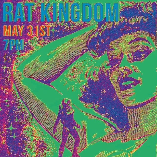 Tonight at The Rat Kingdom, us and @thewildjumps come home to Portland to play with @sparklecarpet , Flying Saucers and Pulling It Off. Celebrate our survival!