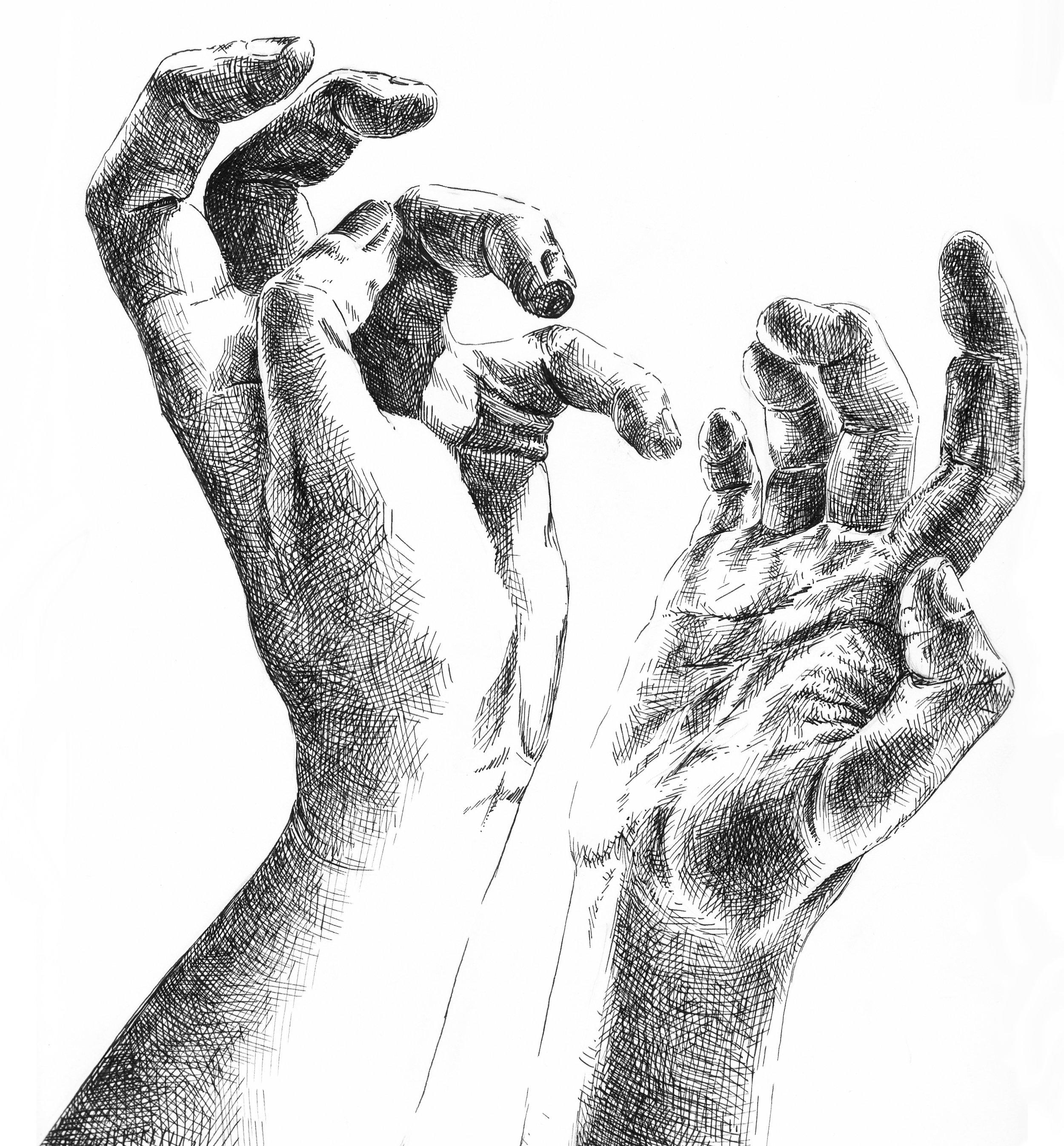 Hand Study 2