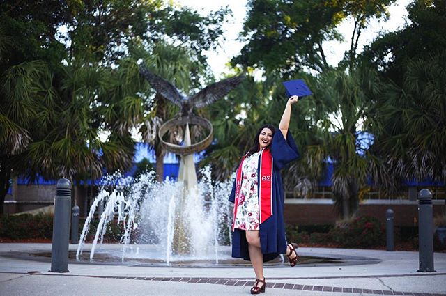 We can live in a world that we Design!  Thank you UNF for all the memories 💙 I'm outta here!