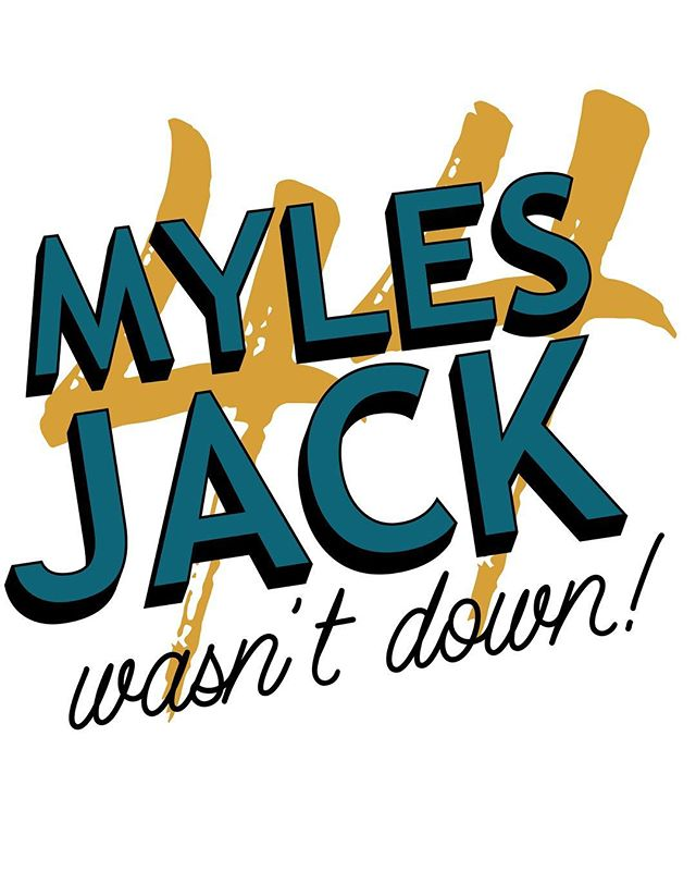 I've said it once and I'll say it again... . . . . . . #duval #jags #mylesjack #44 #notpatriotsfans #dtwd #neverforget #notoverit #jagscamp2018
