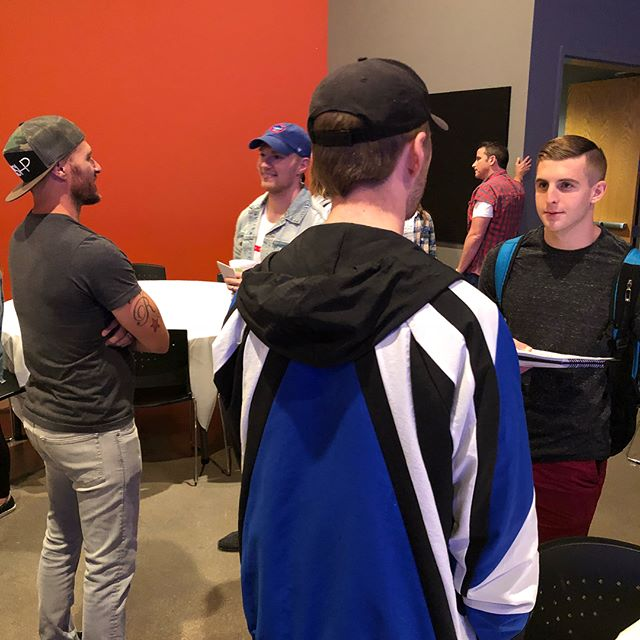 Tons of church leaders on campus today to meet some freshman ministry students! We love the local church! Thanks for coming everyone!