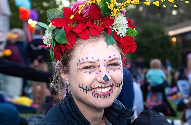 Day Of The Dead Event In Adelaide -