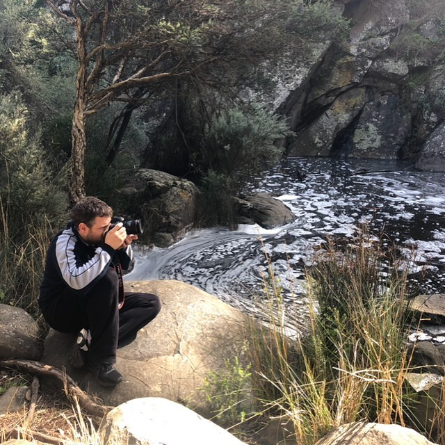 Just taking some shots 📷📷📷 . . . #canon #videographeradelaide #deepcreek #southaustralia