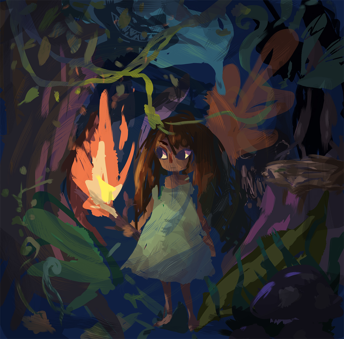 Concept work for  The Forest