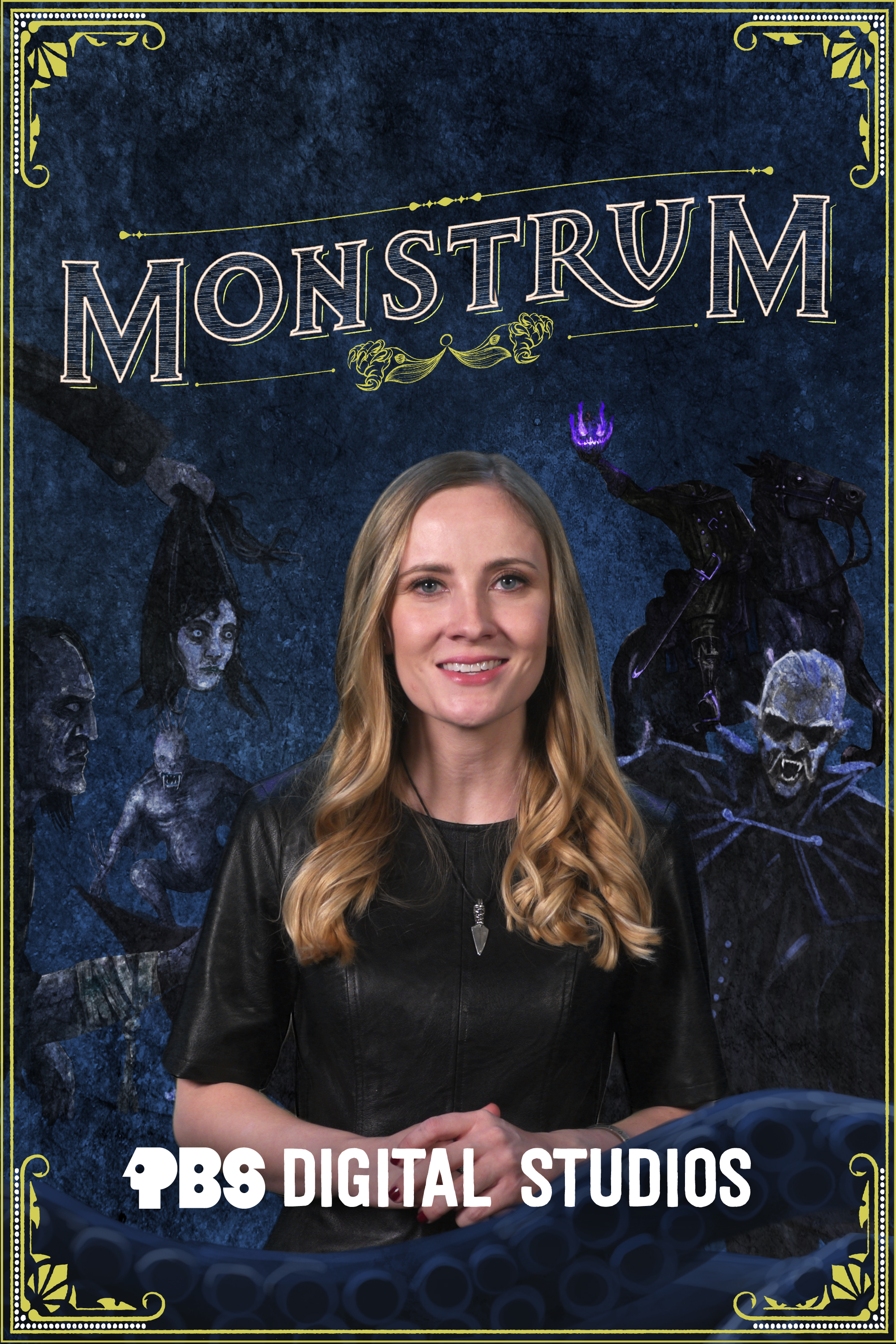 The world is full of monsters, myths, and legends and Monstrum isn't afraid to take a closer look. The show, hosted by Emily Zarka, Ph.D., takes us on a journey to discover a new monster for each new episode. Monstrum looks at humans unique drive to create and shape monster mythology through oral storytelling, literature, and film and digs deep into the history of those mythologies.