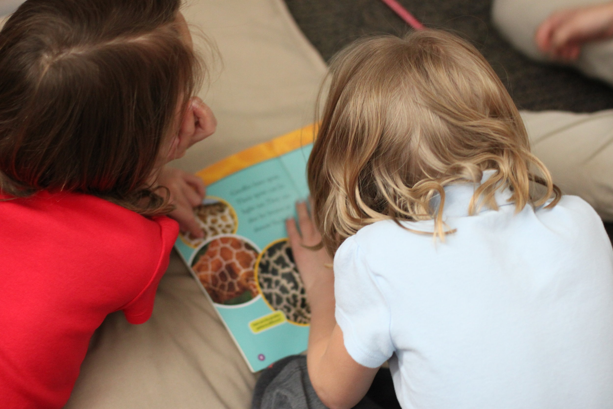 Students read leveled texts with a partner. Photo by Alison Travis