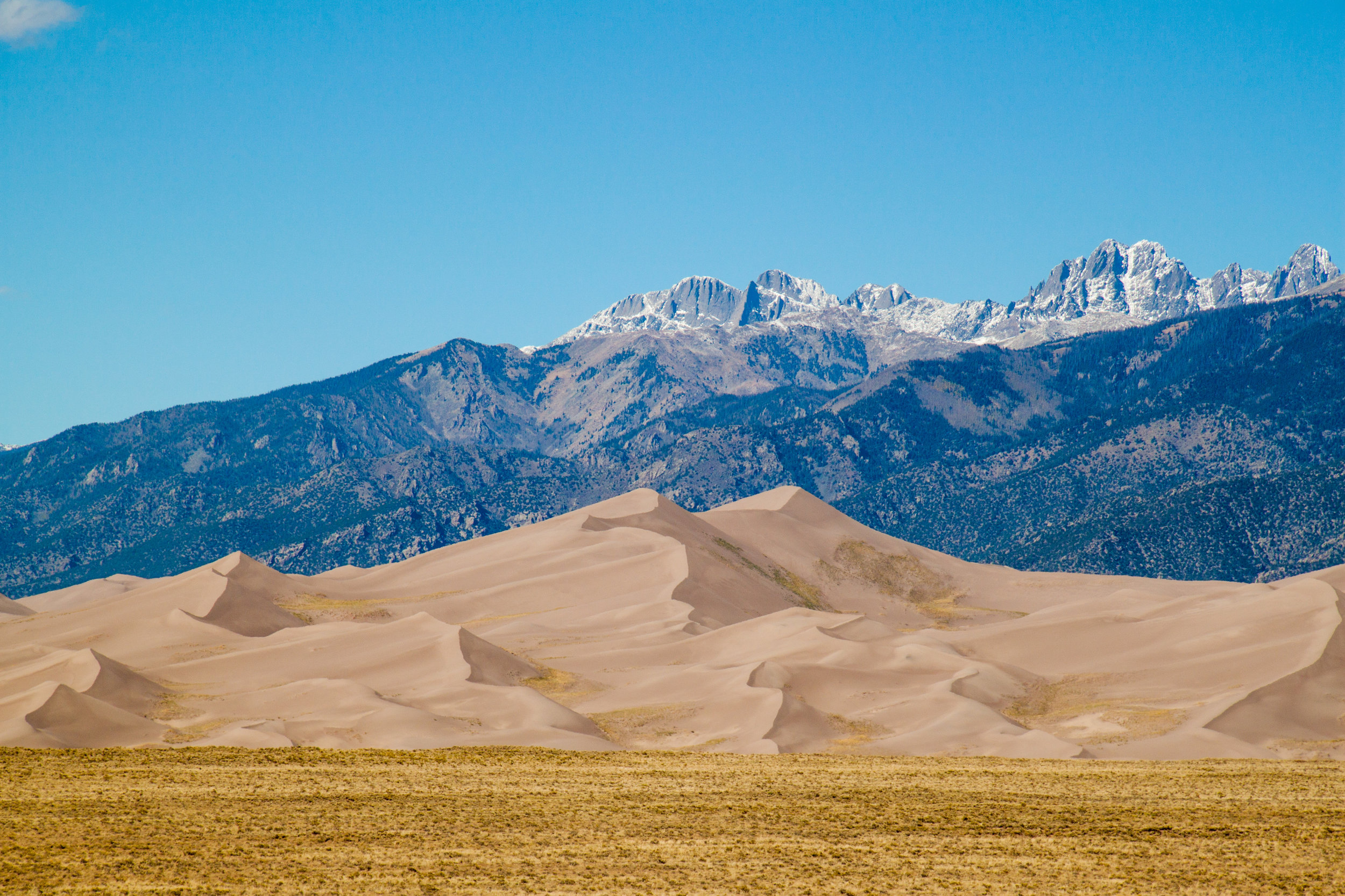 Great Sand Dunes National Park and Preserve.  Photo by Ben Travis