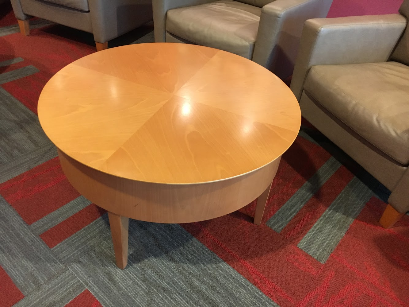 Maple Veneer Occasional Coffee Table