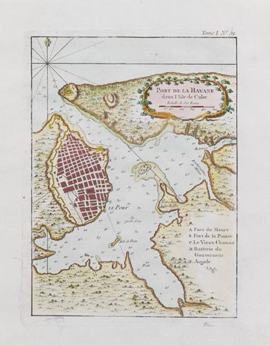 Havana, Cuba (Bellin) 1764