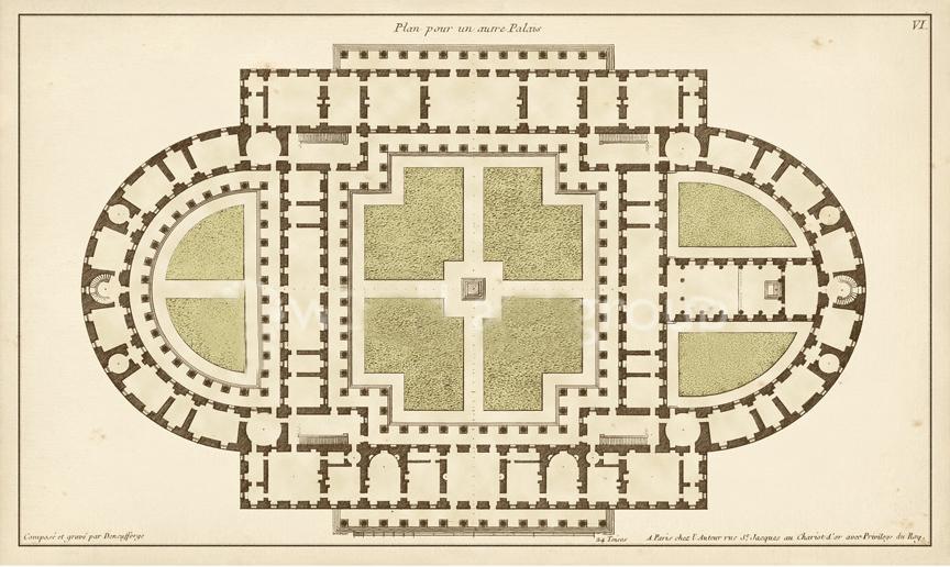 Antique Garden Plan 4