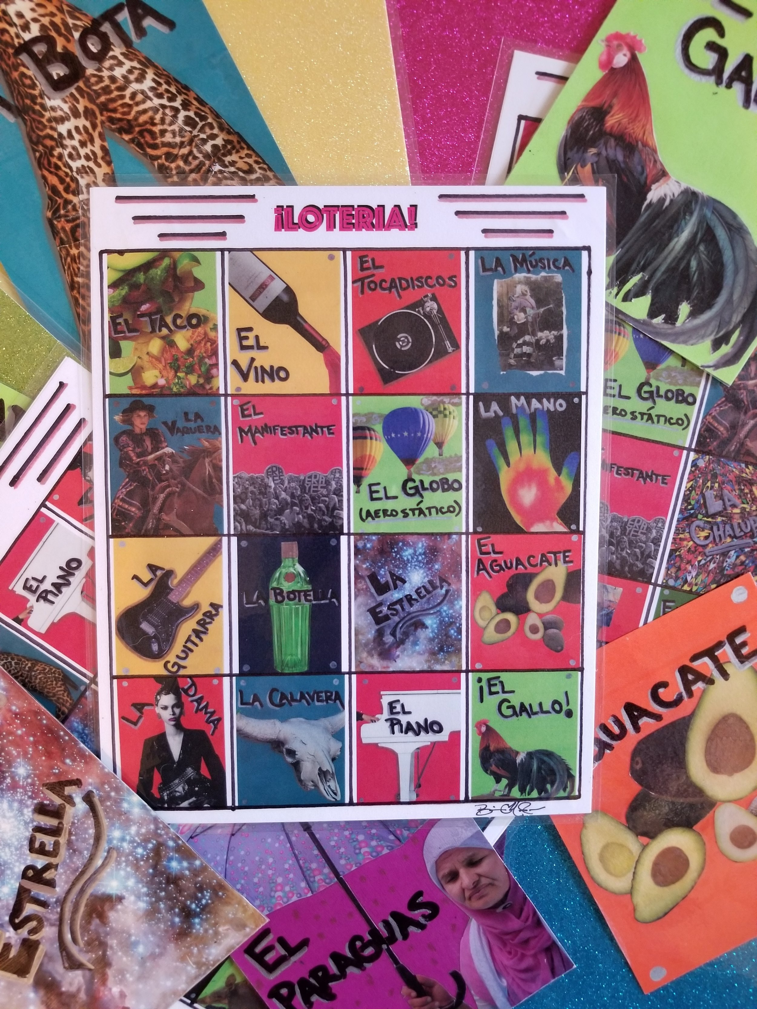 LOTERIA NIGHT EVERY TUESDAY AROUND 8PM…..Hosted by Brian Harden of Lost Boy Productions