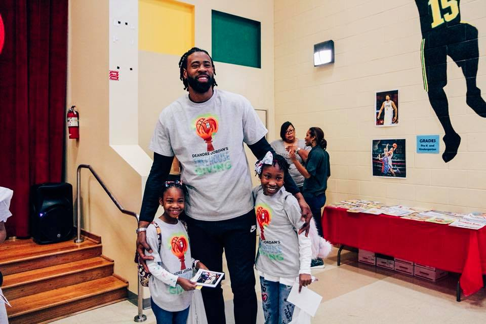 Our Values - DeAndre Jordan Treehouse Giving is built around DeAndre and his brothers loving bond with their mother Kim, who selflessly created a nurturing environment for her children to grow.Learn More