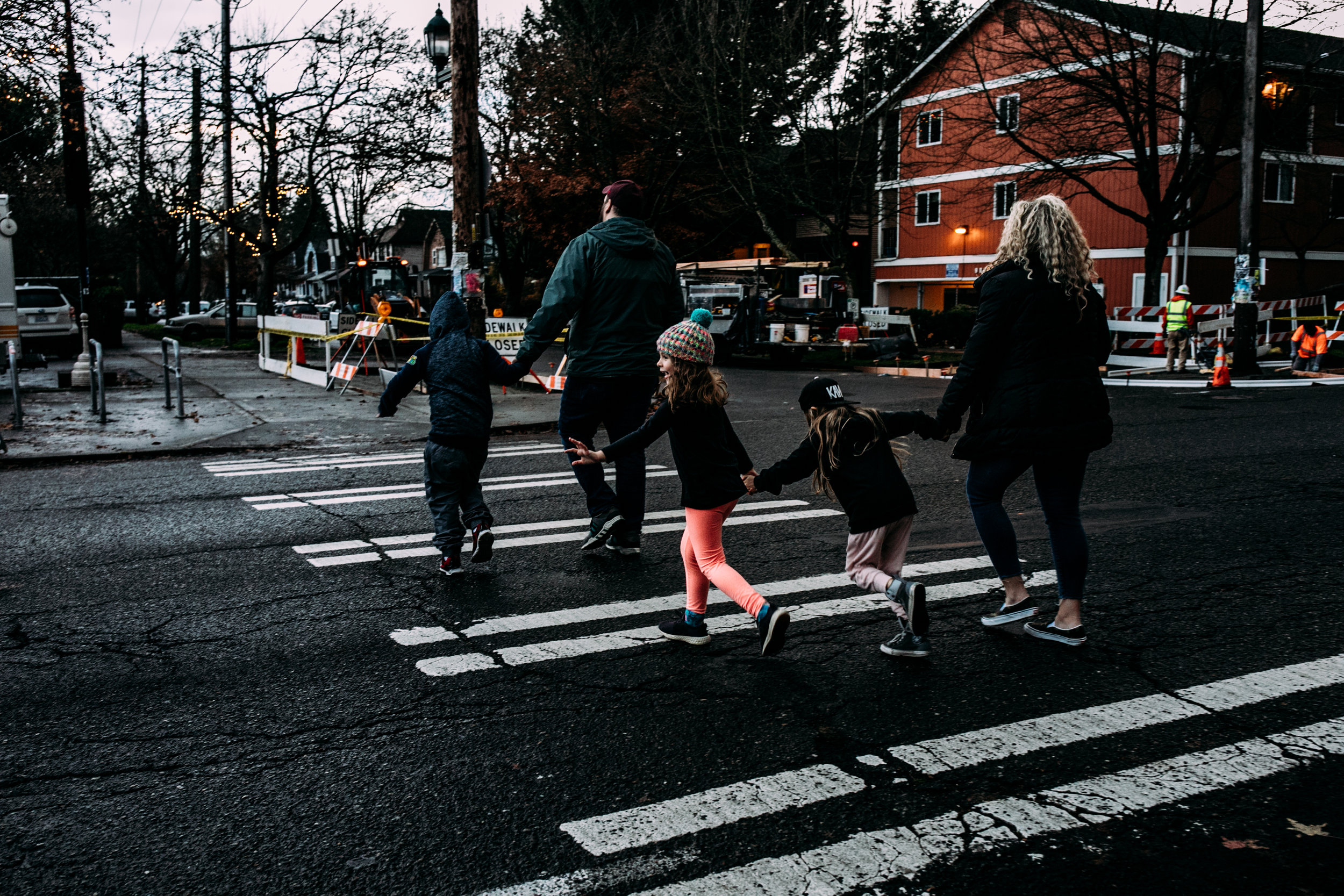 documentary family photography in seattle by Anna Nodolf