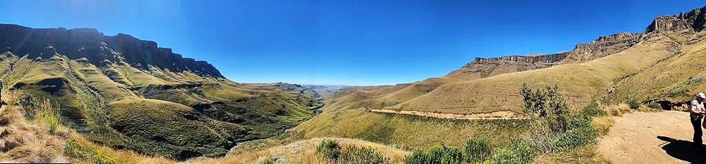 Sani Pass Panorama