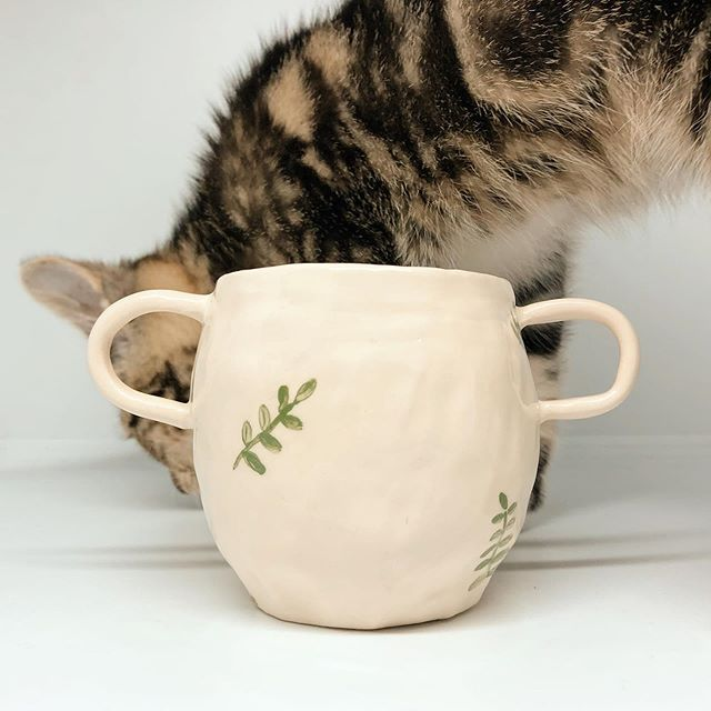When you're trying to take photographs and your cat wants to play... I'm sorry for my radio silence on here for a while. Millie (my kitten) has been ill and I've been trying to juggle so many things...but I'm back now with lots of shots of Millie and some new hand pinched ceramics. Watch this space! . . . . #handmadeceramics #handpinchedceramics #kittensofinstagram #kittenlady #botanicalceramics #ihavethisthingwithceramics #ceramicsmagazine #molliemakersspotlight #slowmade #handmadehome #scandihome #simpleliving #botanicalstyle