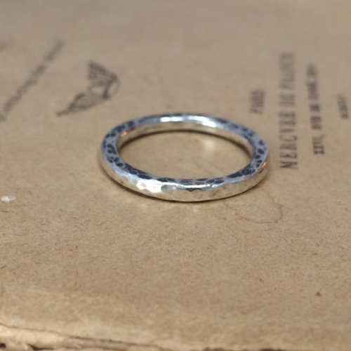 My very first soldered siler ring!