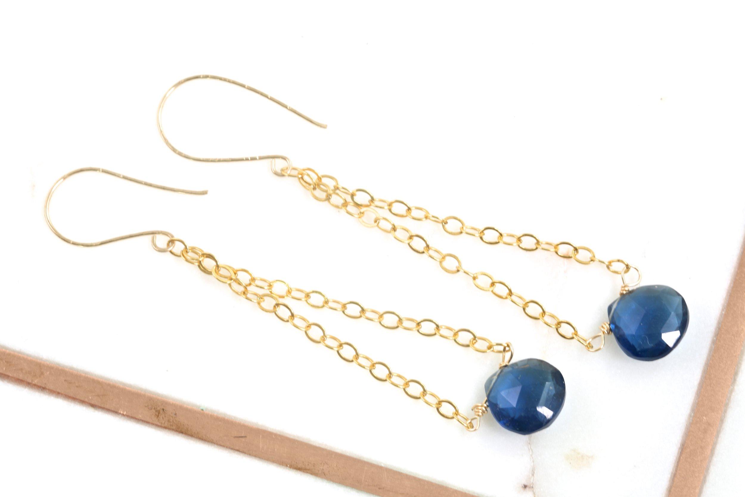 Make Gemstone Earrings