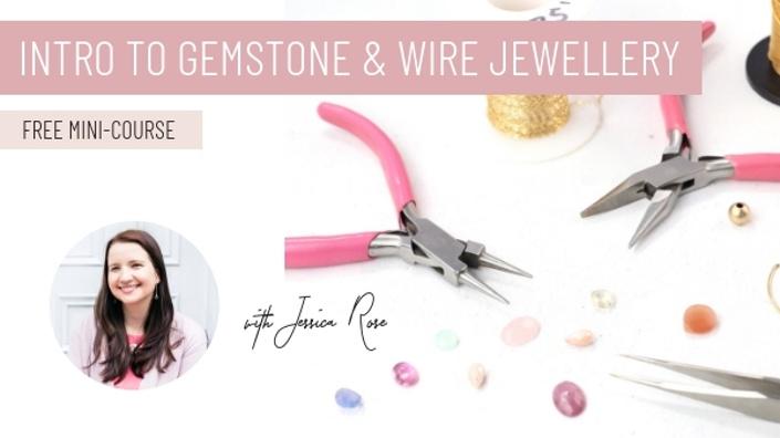 Intro to gemstone and wire jewellery jewellers academy