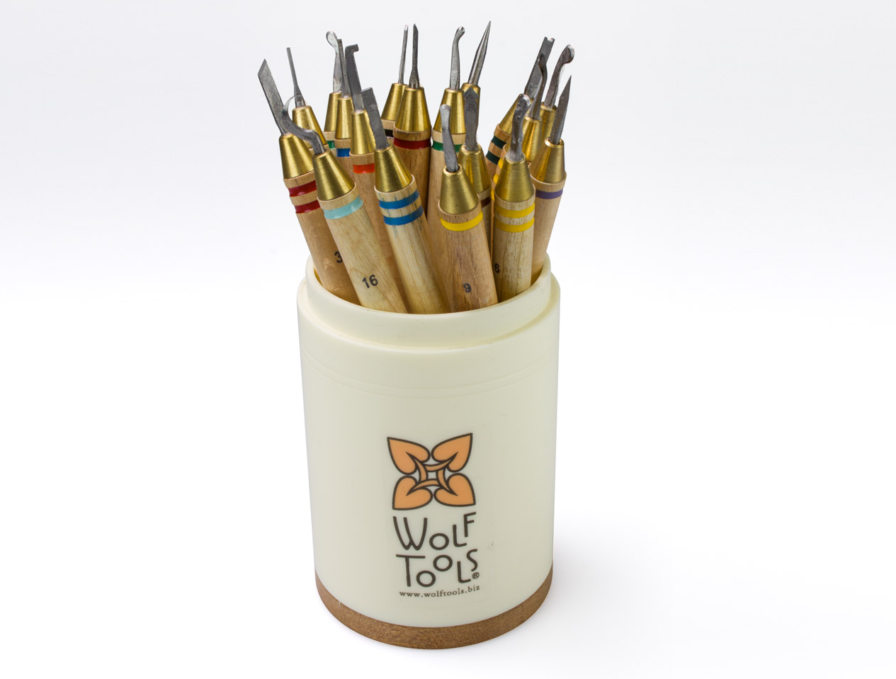 wolf carving wax tools
