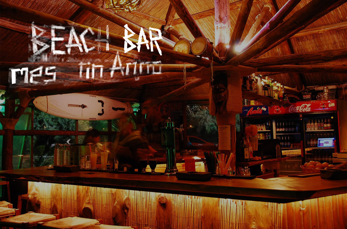 beach bar -  Mes tin Ammo