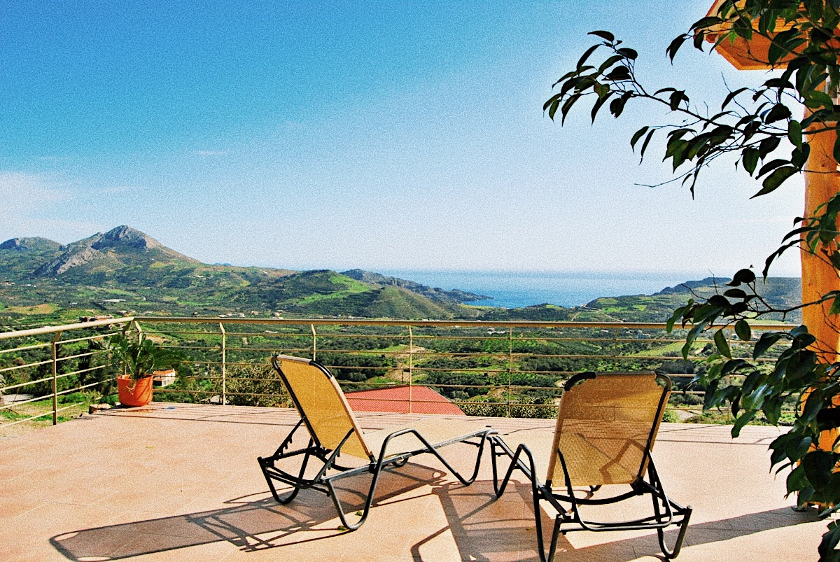 Panoramic View Villa Sunrise Mirthios Crete.JPG