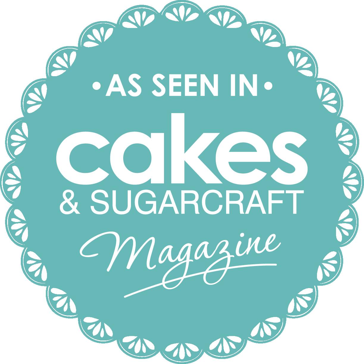 As seen in Wedding Cakes Magazine - Emily Hankins Cakes