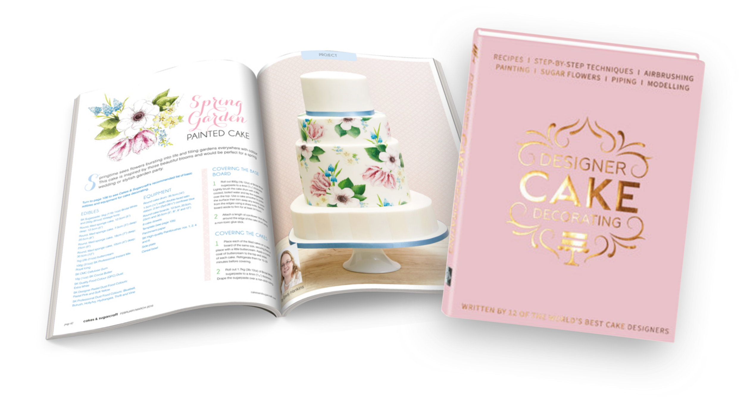 Emily Hankins Cakes - magazine and book features