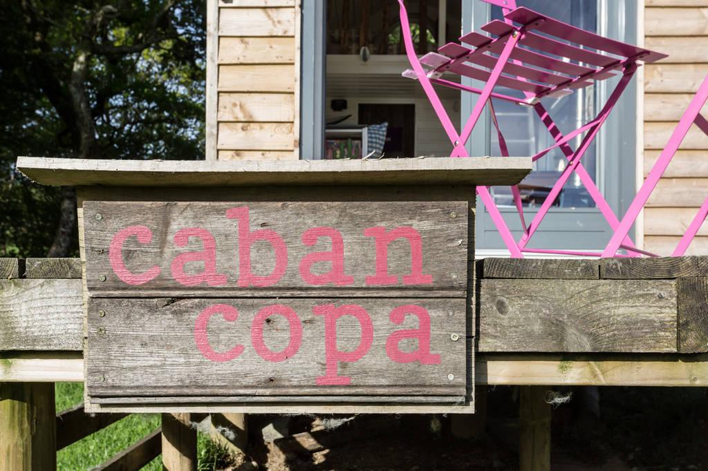 Caban Copa sign