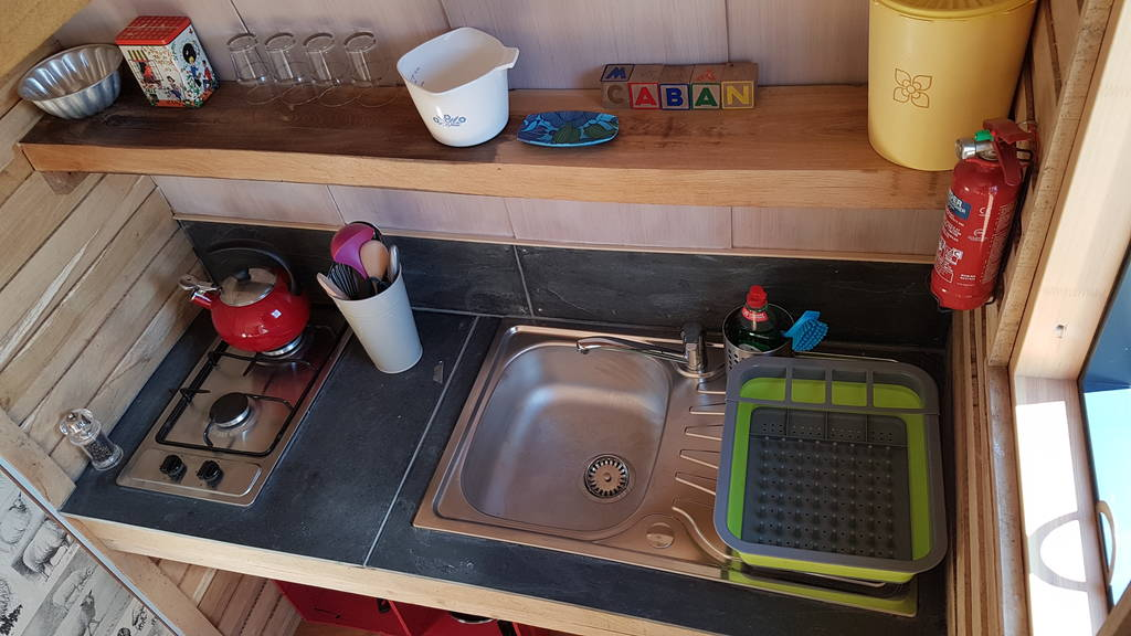 Caban Cadno kitchen