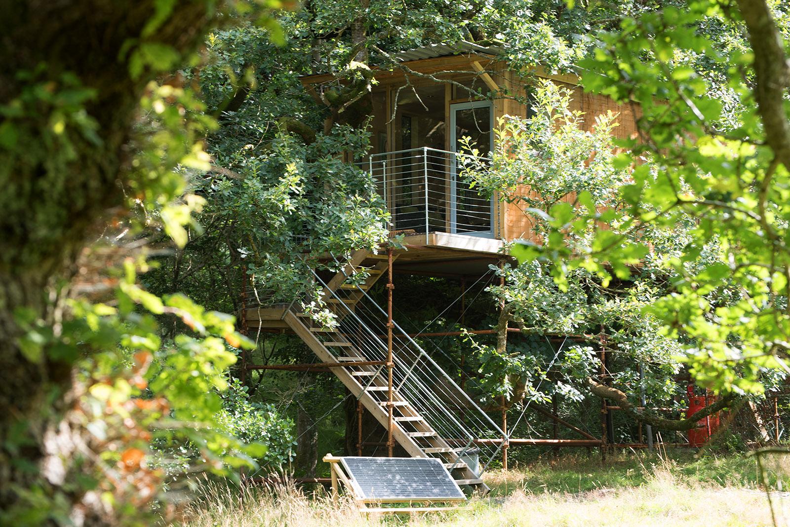 Ty Cainc Treehouse