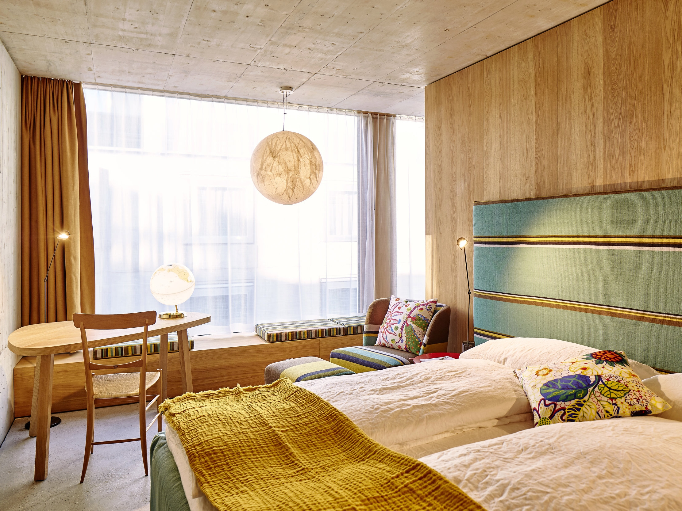 Urban club room, Hotel NOMAD, Basel