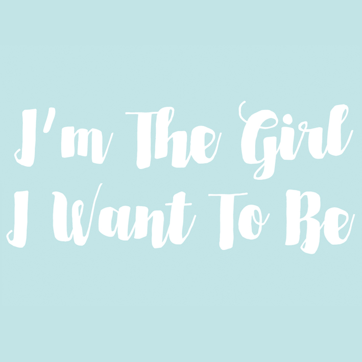 I'm The Girl I Want To Be - The 8 week I'm The Girl I Want To Be wellbeing course for girls aged 11-18
