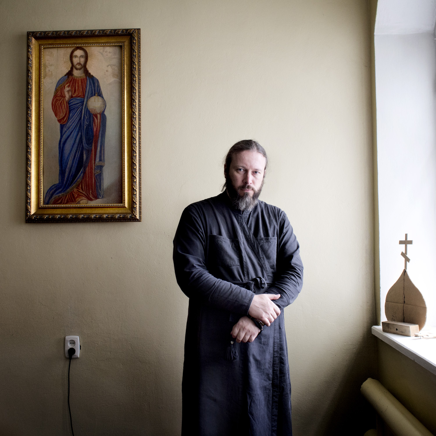 Hegumen Euthymios (Moses), the first vice-rector of the Kazan Orthodox Theological Seminary found himself surpised at the extend of peaceful and friendly relationship between the religions in the region. Coming from Moscow he is used to more scepticism between the groups.