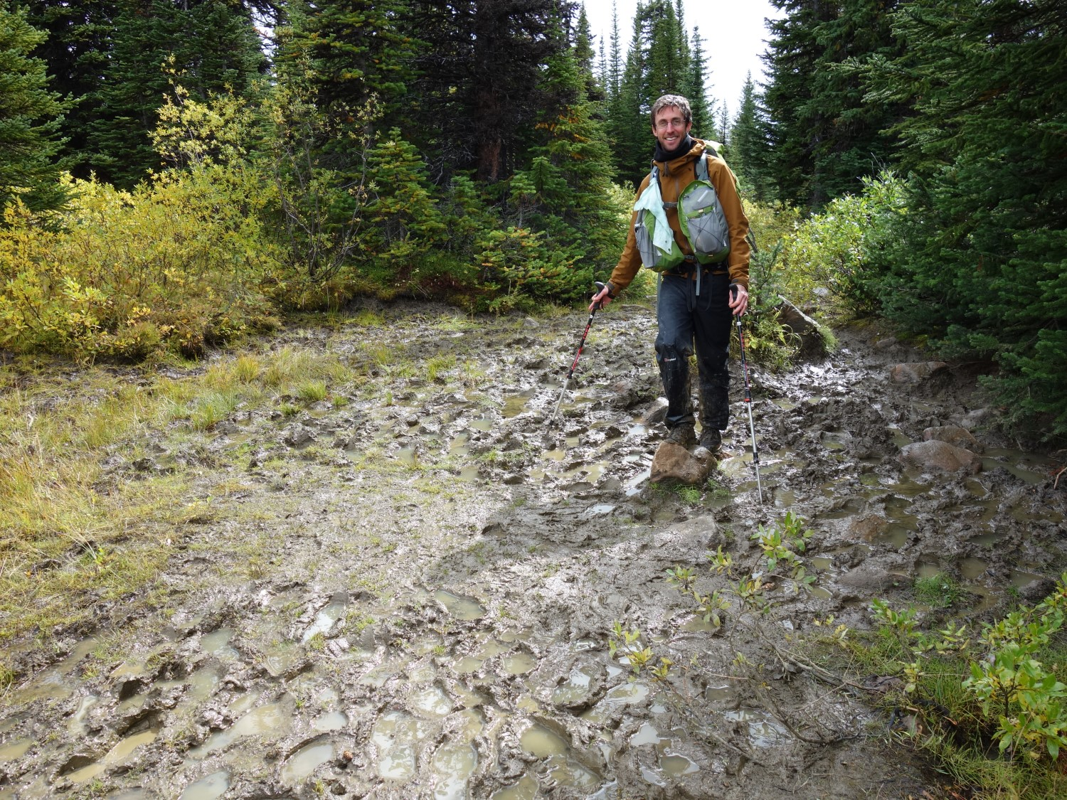 Beware, the Tonquin Valley Mud, especially in Spring or after rain.