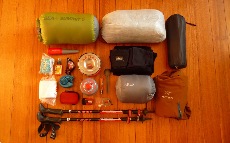 8a0fbf96343 Backpacking Gear List — Ultimate Gear Lists