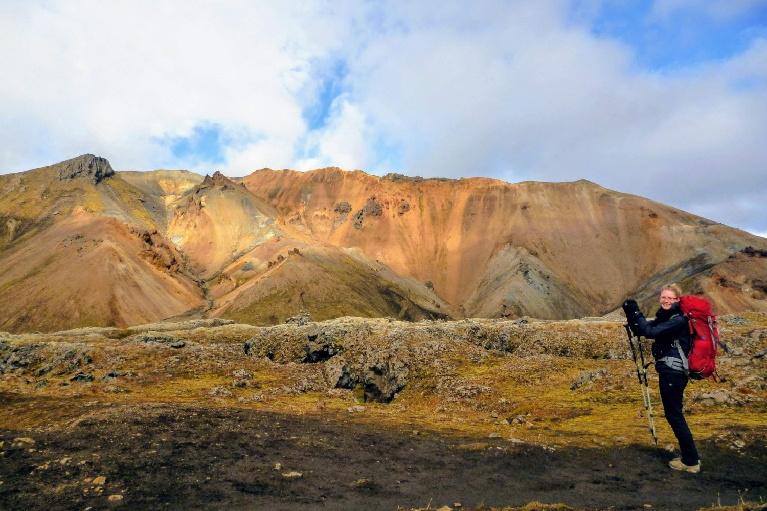 The Laugavegur Trail — a journey I've seen described as hiking, trekking, and backpacking! Keen to check it out — see our epic  Laugavegur Trail Guide .