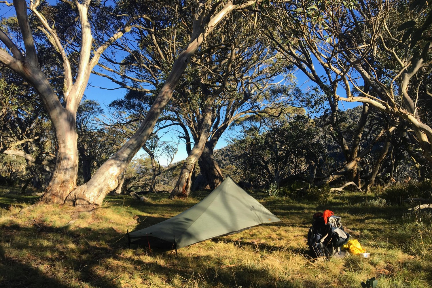 A Tarptent pitched in the Australian Alps.  Tarptent  — who make backpacking shelters — are an awesome outdoor brand and a perfect example of innovative gear coming out of the cottage industry.