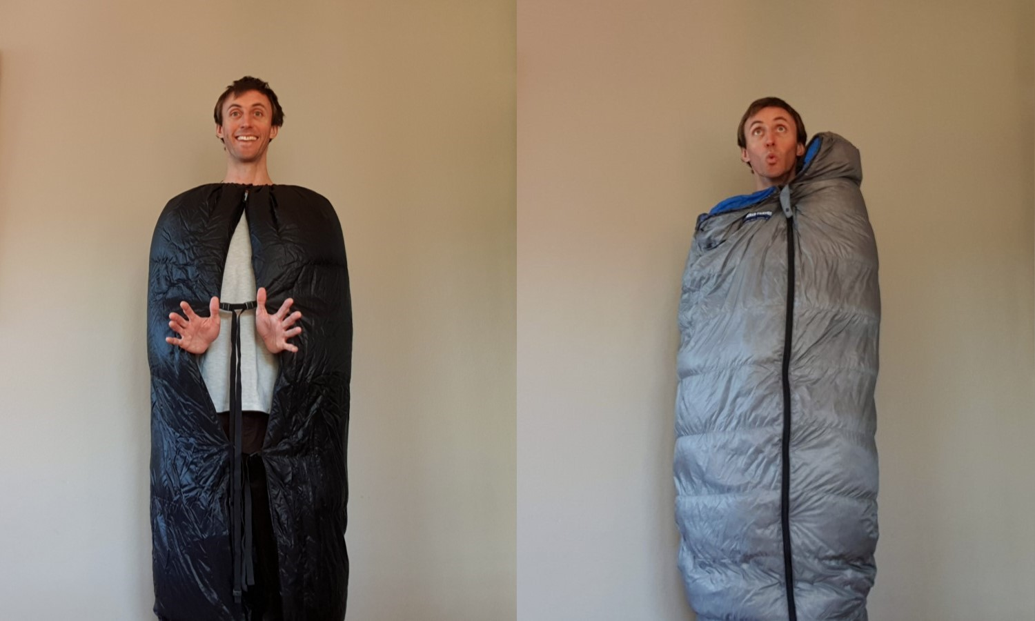 Do you even need that zip? Maybe not! … Perhaps a  backpacking quilt  would be a better choice, depending on your needs.