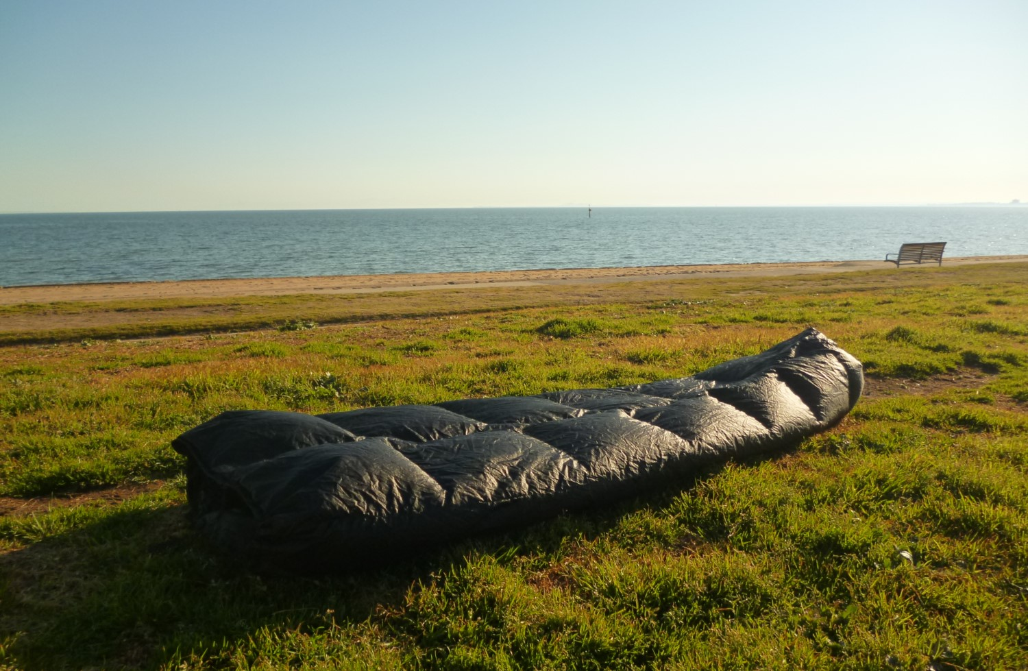 Enlightened Equipment  are one of my faves — they make both quilts and hoodless sleeping bags.