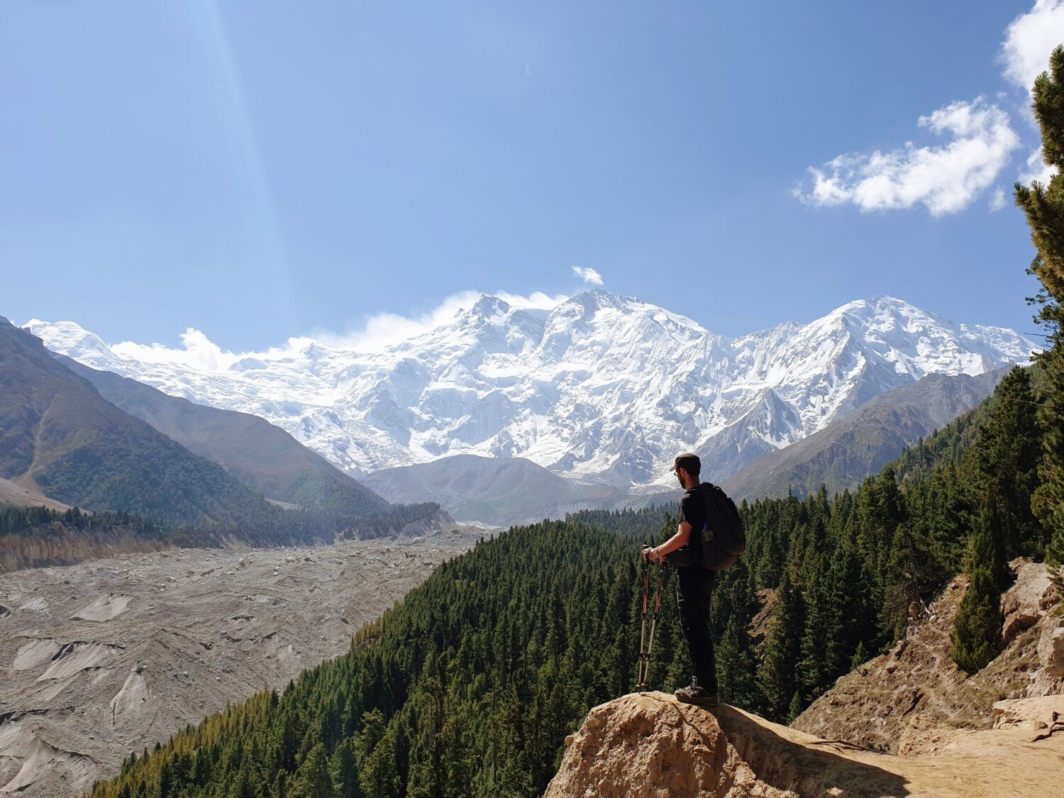 The views of Nanga Parbat from Fairy Meadows are just stunning.