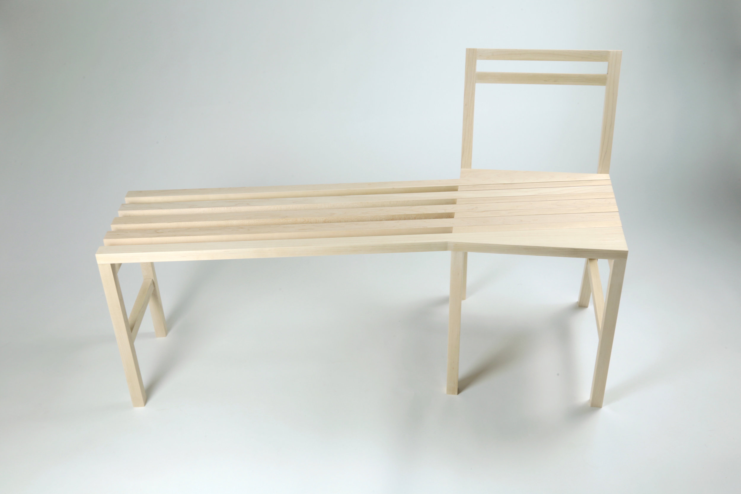 chair bench front